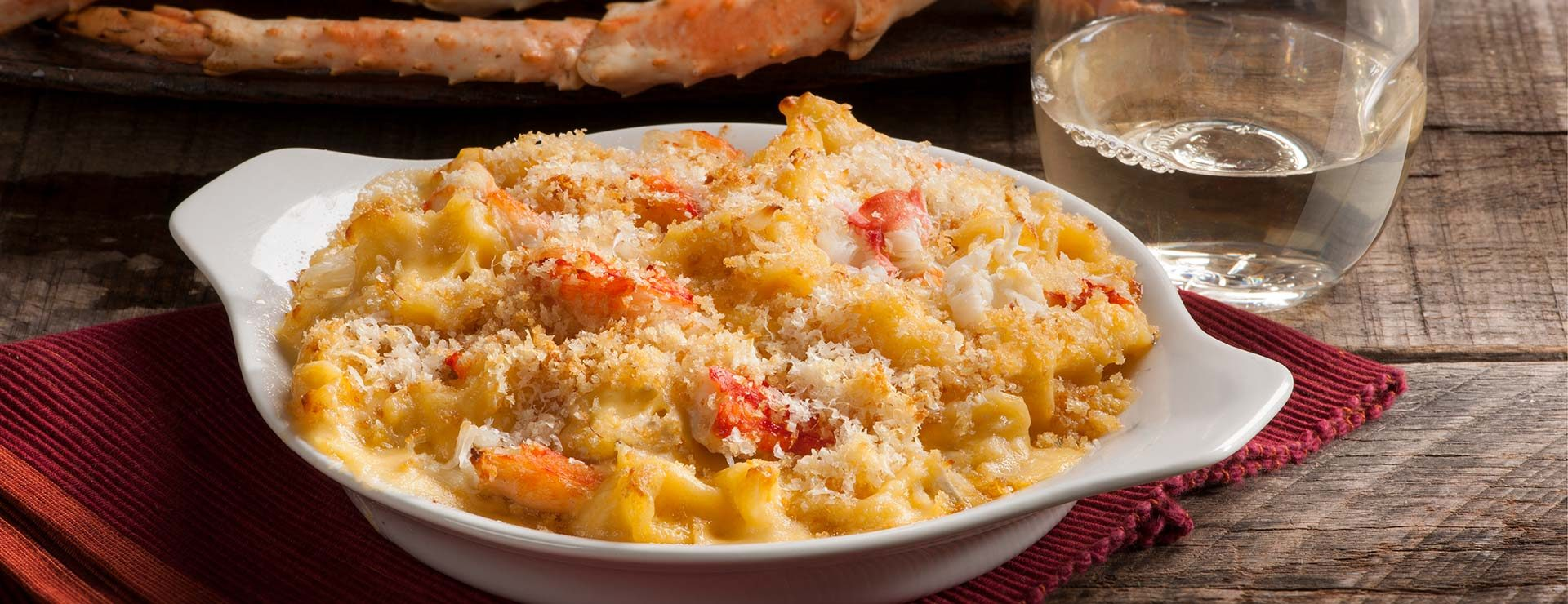 Crabmeat Mac and Cheese
