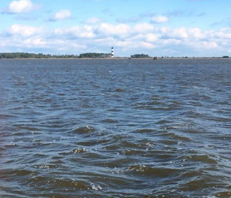 Picture of Bodie Island Lighthouse from Oyster Farm