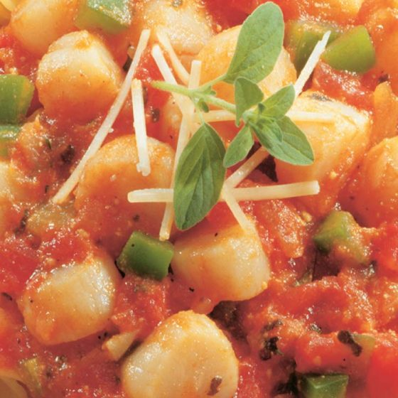 Scallop Marinara